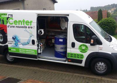 Camionnette Agricole atelier mobile